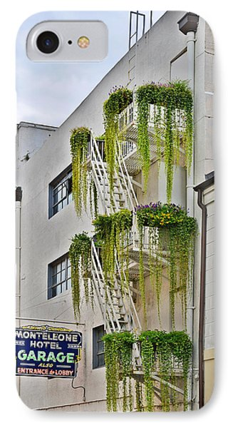 New Orleans Balcony Gardens IPhone Case by Christine Till