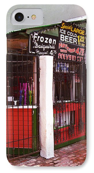 New Orleans - Bourbon Street 5 Phone Case by Frank Romeo