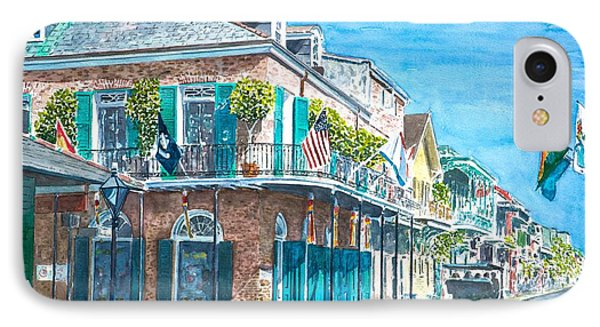 New Orleans Bourbon Street IPhone Case by Anthony Butera