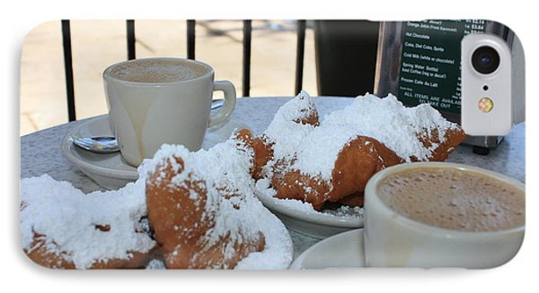 New Orleans Breakfast IPhone Case by Carol Groenen