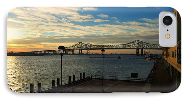 IPhone Case featuring the photograph New Orleans Bridge by Erika Weber