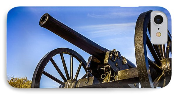 New Orleans Cannon At Washington Artillery Park Phone Case by Paul Velgos