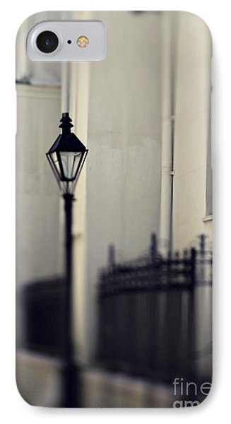 New Orleans Cathedral Street Lamp IPhone Case