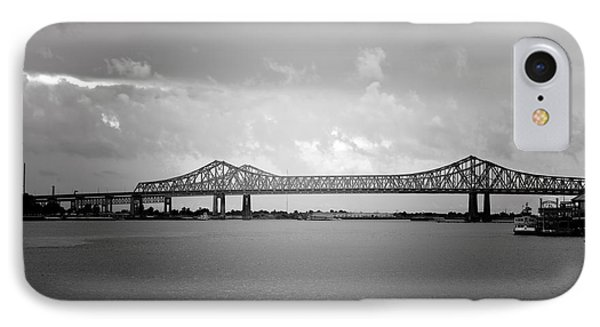 New Orleans Ccc Bridge IPhone Case by Christine Till