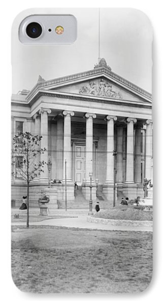 IPhone Case featuring the photograph New Orleans City Hall by Granger
