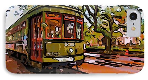 New Orleans Classique Line Art IPhone Case by Steve Harrington