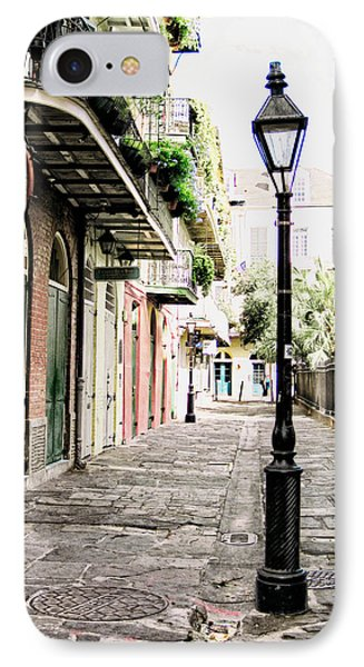 IPhone Case featuring the photograph New Orleans Cobblestone by Heather Green