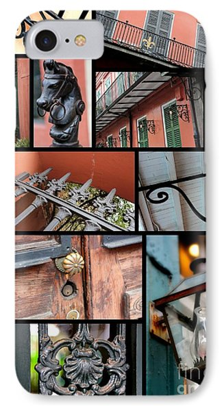New Orleans Collage 2 Phone Case by Carol Groenen