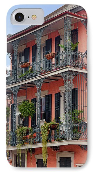 New Orleans Colorful Homes IPhone Case by Christine Till