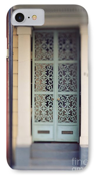IPhone Case featuring the photograph New Orleans Door by Heather Green