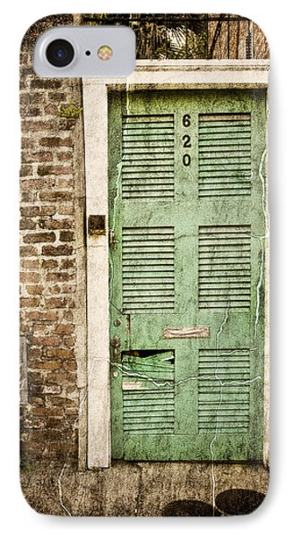 IPhone Case featuring the photograph New Orleans Doorway by Ray Devlin