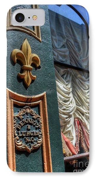 New Orleans Fleur-de-lis IPhone Case by Timothy Lowry