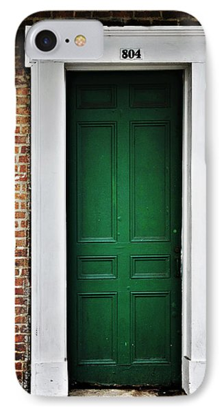New Orleans Green Door IPhone Case by Christine Till