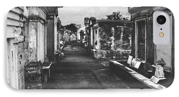 New Orleans Lafayette Cemetery Phone Case by Christine Till