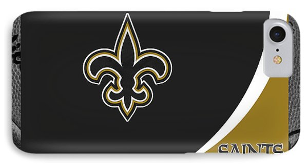 New Orleans Saints IPhone Case by Joe Hamilton