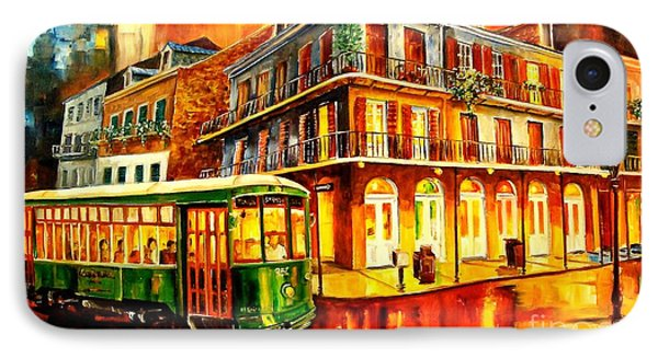 New Orleans Streetcar Phone Case by Diane Millsap