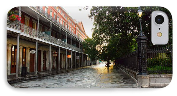 New Orleans Streets IPhone Case by Ryan Burton