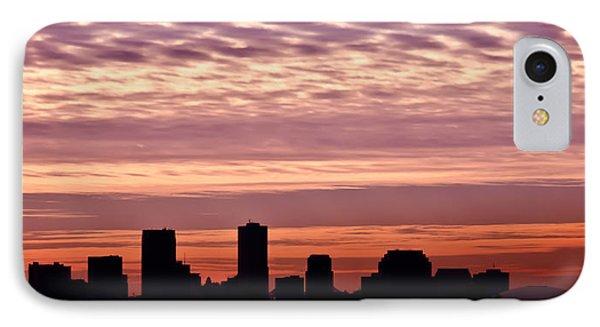 New Orleans Sunrise Phone Case by Renee Barnes