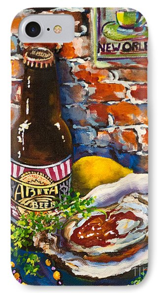 IPhone Case featuring the painting New Orleans Treats by Dianne Parks