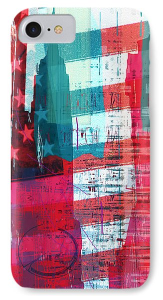 New Paint - New York Empire State I IPhone Case by Joost Hogervorst