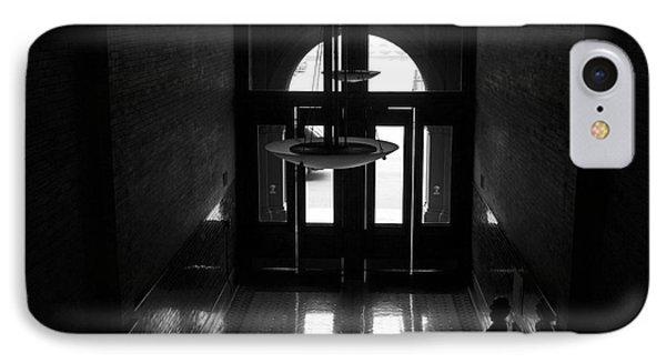 New Photographic Art Print For Sale Bradbury Building 12 Downtown La Phone Case by Toula Mavridou-Messer
