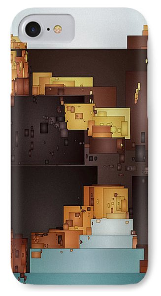 New Pueblo 1 IPhone Case by David Hansen