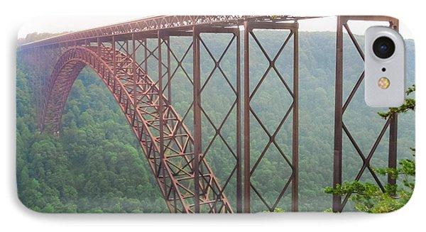 IPhone Case featuring the photograph New River Gorge Bridge   by Lars Lentz