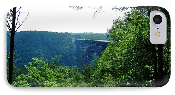 IPhone Case featuring the photograph New River Gorge by Deborah DeLaBarre