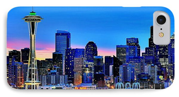 New Seattle Day IPhone Case by Benjamin Yeager