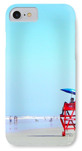 New Smyrna Lifeguard IPhone Case by Valerie Reeves