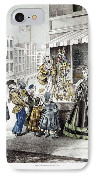 New Year's Eve, 1865 IPhone Case by Granger