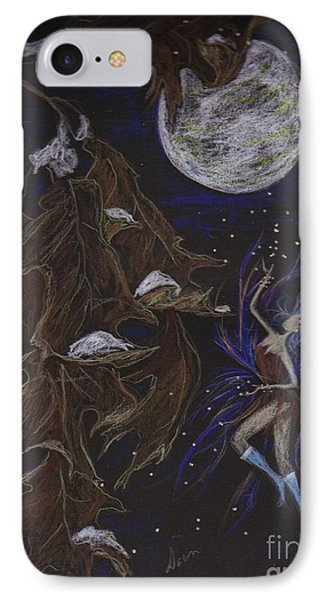 IPhone Case featuring the drawing New Years Eve by Dawn Fairies
