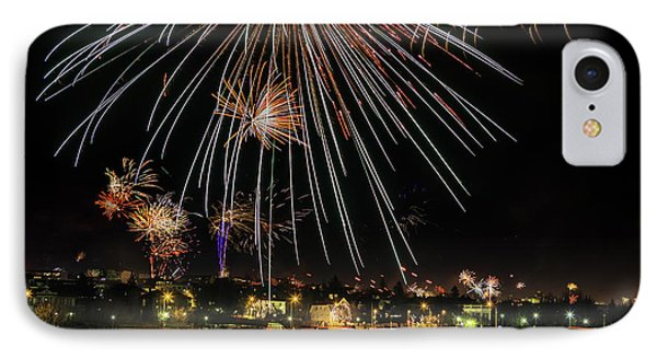 New Years Eve Fireworks Are Legal IPhone Case by Panoramic Images