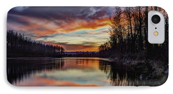 New Years Eve Sunset IPhone Case