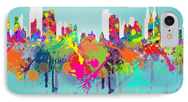 New York 7 IPhone Case