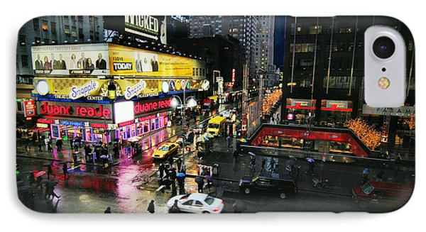 New York After The Rain IPhone Case by Linda Unger