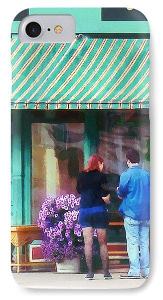 New York - Antique Shop Canandaigua Ny Phone Case by Susan Savad