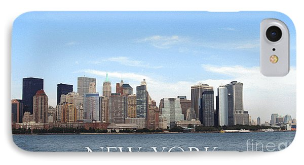 IPhone Case featuring the photograph New York As I Saw It In 2008 by Ausra Huntington nee Paulauskaite