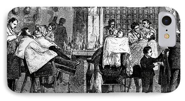 New York: Barbershop, 1882 Phone Case by Granger