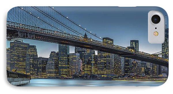 New York - Blue Hour Over Manhattan IPhone Case