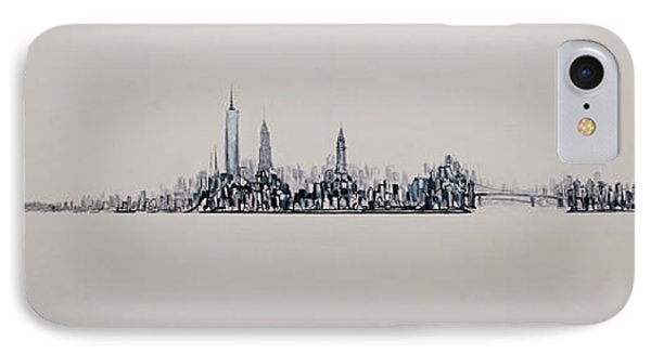 New York City 2013 Skyline 20x60 IPhone Case