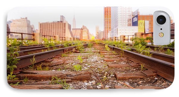New York City - Abandoned Railroad Tracks IPhone Case