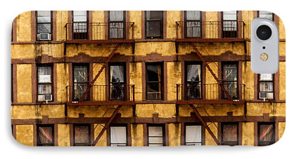 New York City Apartment Building Study Phone Case by Amy Cicconi