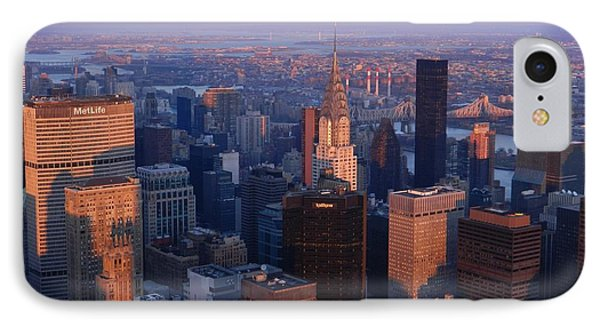 New York City At Dusk IPhone Case