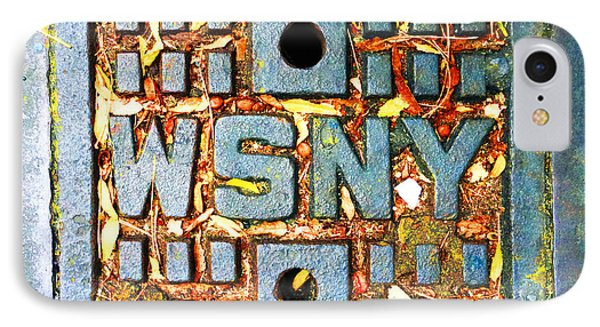 New York City Autumn Street Detail Photo IPhone Case by Tony Rubino