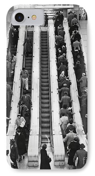 New York City Bus Terminal, 1953 IPhone Case