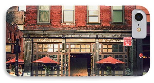 New York City - Cafe In Tribeca IPhone Case by Vivienne Gucwa