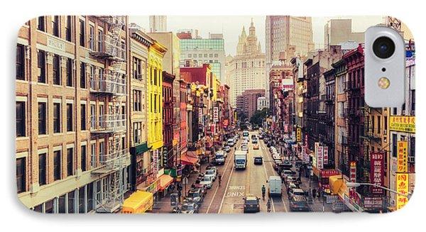 New York City - Chinatown Street Phone Case by Vivienne Gucwa