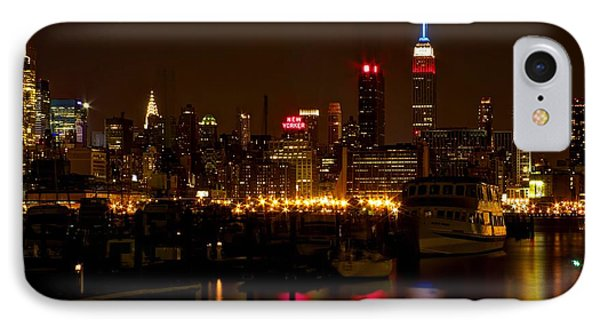 New York City IPhone Case by Dave Files