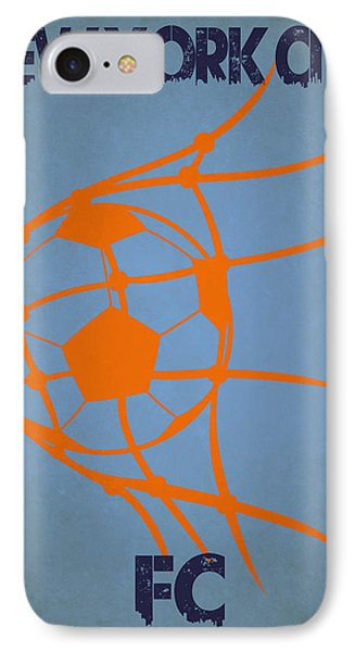 New York City Fc Goal IPhone Case by Joe Hamilton